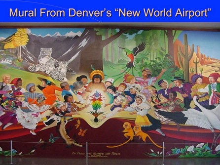 Denver airport murals explained by dr leonard horowitz for Denver international airport mural