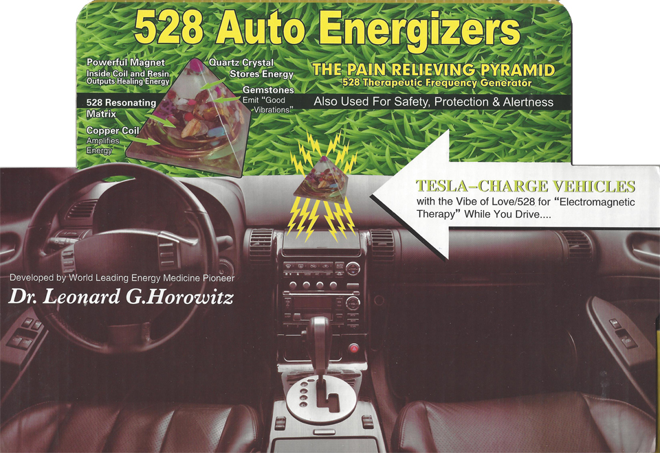 528 Auto Energizers Counter Display