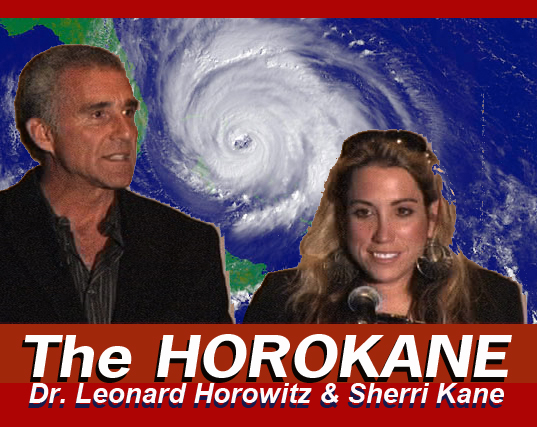 journalists Sherri Kane and Dr. Leonard Horowitz, Horokane