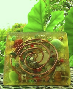 orgone generator coil base