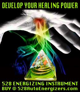 Develop Healing Power 528 Energizer Ad