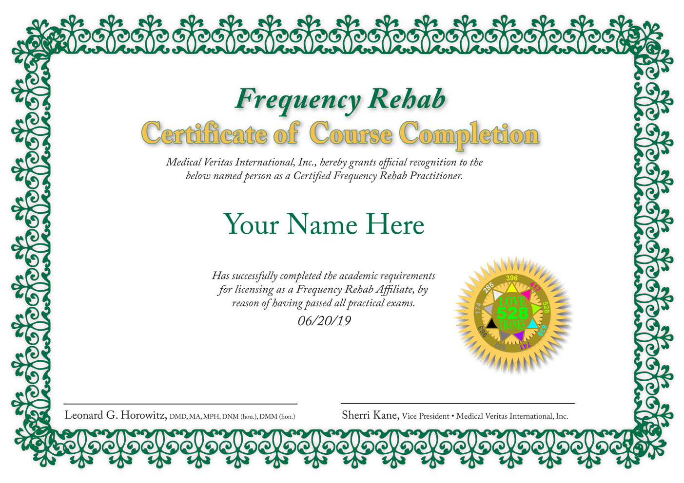 Frequency Rehab Franchise